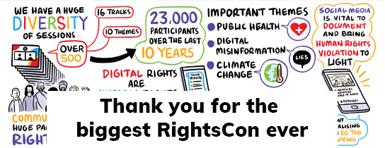 Thank you for the biggest RightsCon ever
